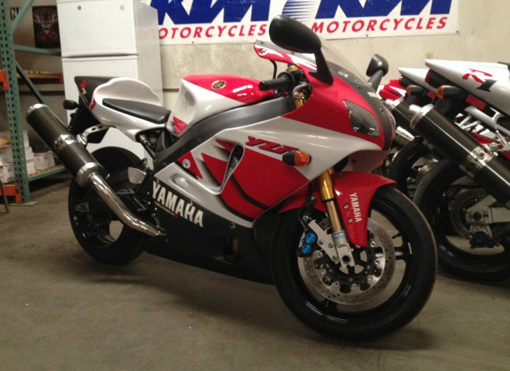 Second Coming: 1999 Yamaha YZF-R7 OW02 for Sale