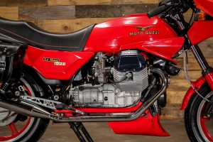 20150826 1985 moto guzzi le mans 1000 mk iv right engine detail