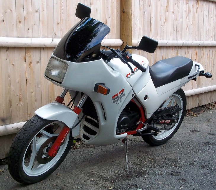 Rare Curiosity  in the USA: 1986 Cagiva Aletta Oro S2 for Sale