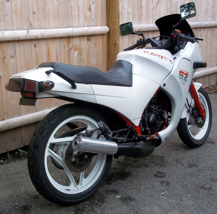 1986 Cagiva S2 R Side Rear