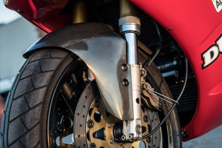 1991 Ducati 851 SP3 Front Suspension