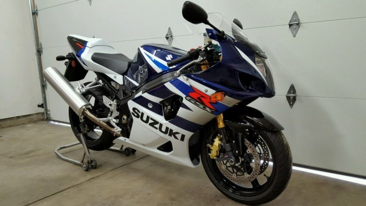 New Old Stock: 2004 Suzuki GSX-R1000 for Sale With Just 294 Miles!