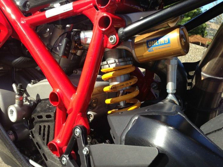 2008 Ducati 1098R Rear Suspension