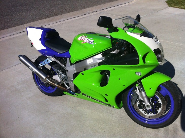 Second Time on RSBFS?  1996 Kawasaki ZX-7RR N1