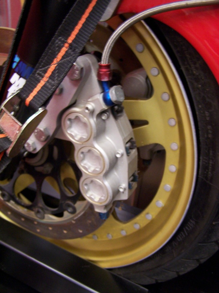 1984 Laverda RGS1000 Front Wheel Detail