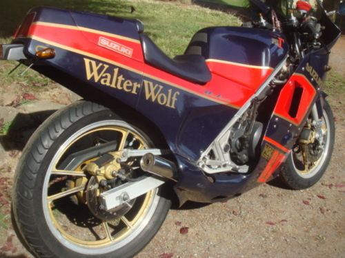 1985 Suzuki RG250 Walter Wolf R Side Rear