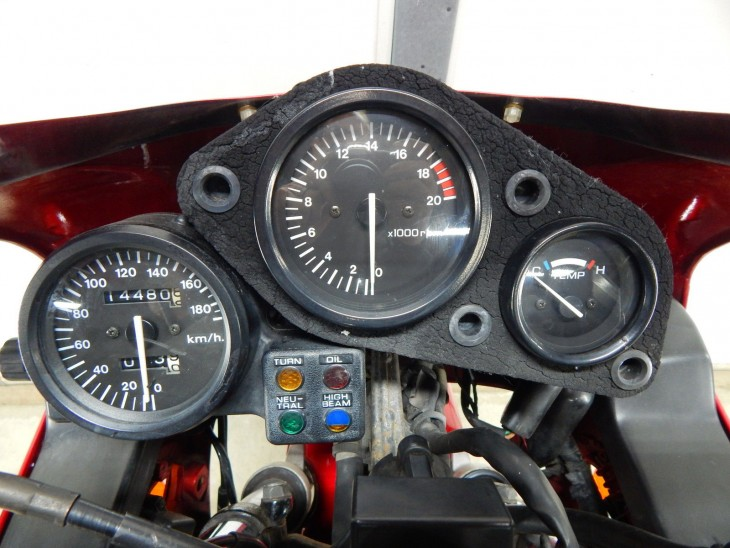 1989 Honda CBR250R Clocks
