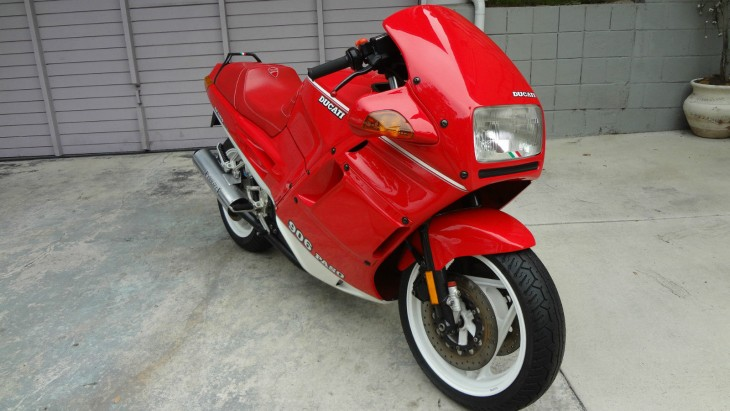 Red Revival – 1990 Ducati Paso 906