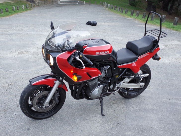 Rare Retro Brute: 2003 Suzuki GS1200SS for Sale