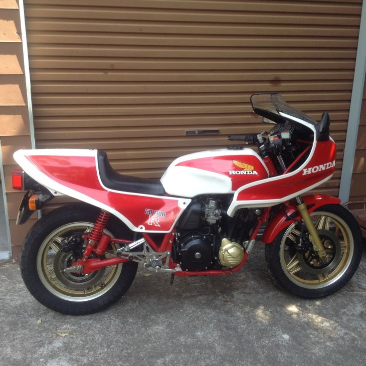 1980 Honda CB1100R R Side