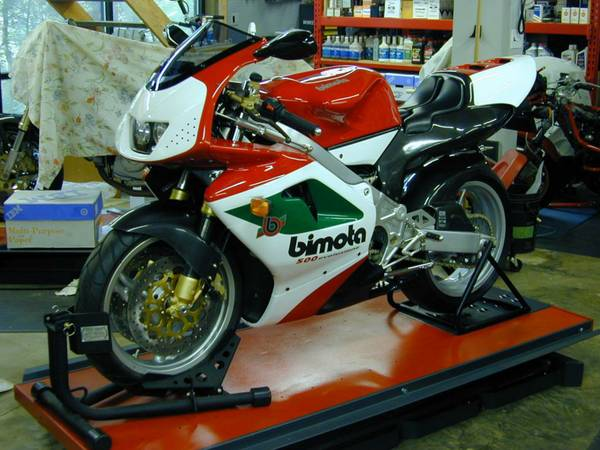 Two-Stroke Apotheosis: 2004 Bimota VDue for Sale
