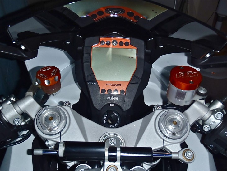 20151227 2008 ktm rc8 limited edition dash
