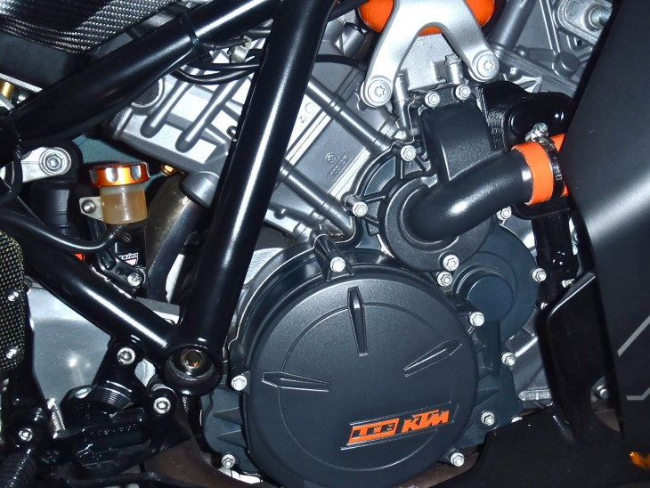 20151227 2008 ktm rc8 limited edition right engine