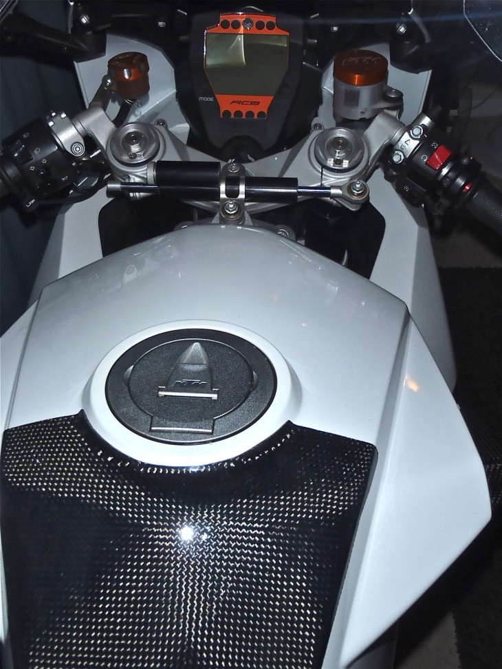20151227 2008 ktm rc8 limited edition tank