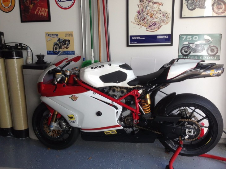 Track-Bred: 2005 Ducati 749R for Sale
