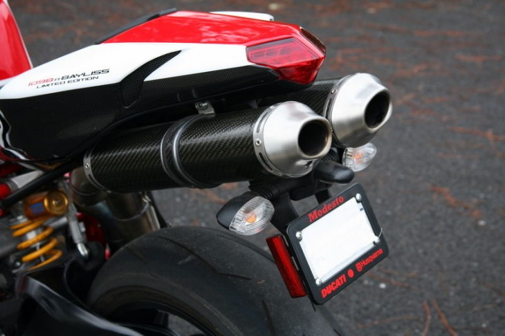 2009 Ducati 1098R Bayliss L Tail