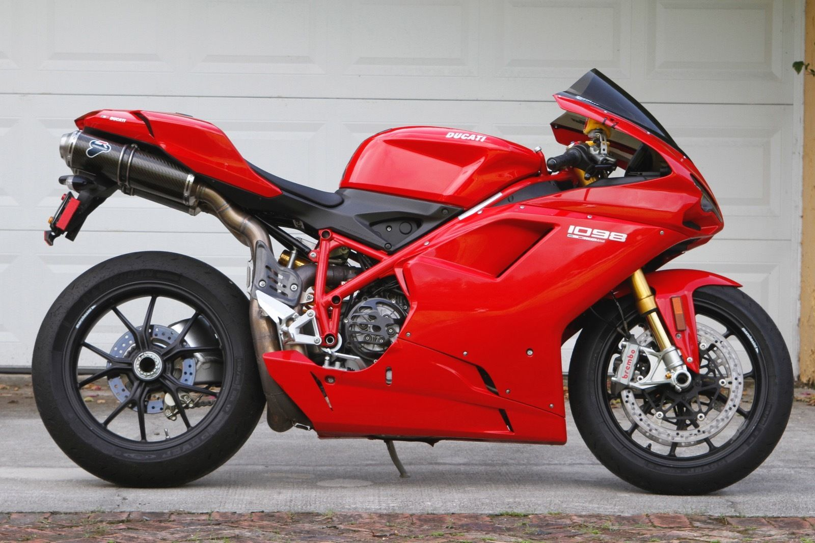 Addition By Subtraction 2007 Ducati 1098 Rare