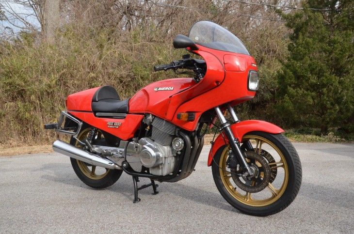 Gentleman's Express: 1983 Laverda RGS1000 for Sale