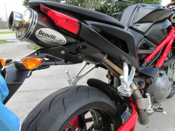 2007 Benelli TNT Exhaust