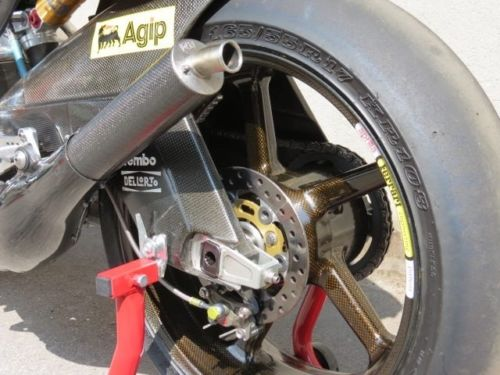 20160207 2001 aprilia rsw250 left rear wheel