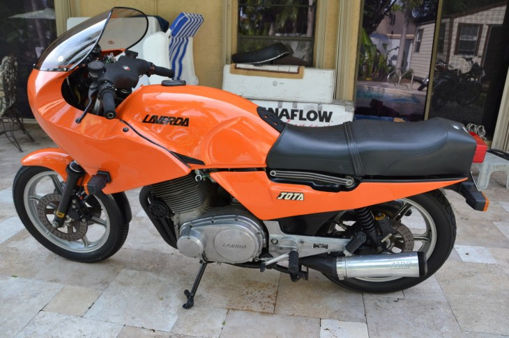 1984 Laverda RGS L Side