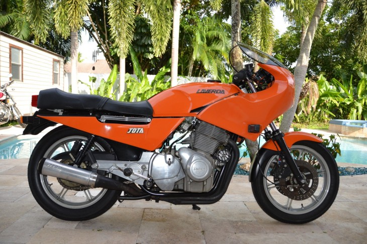 Orange Whip: 1984 Laverda RGA Jota for Sale