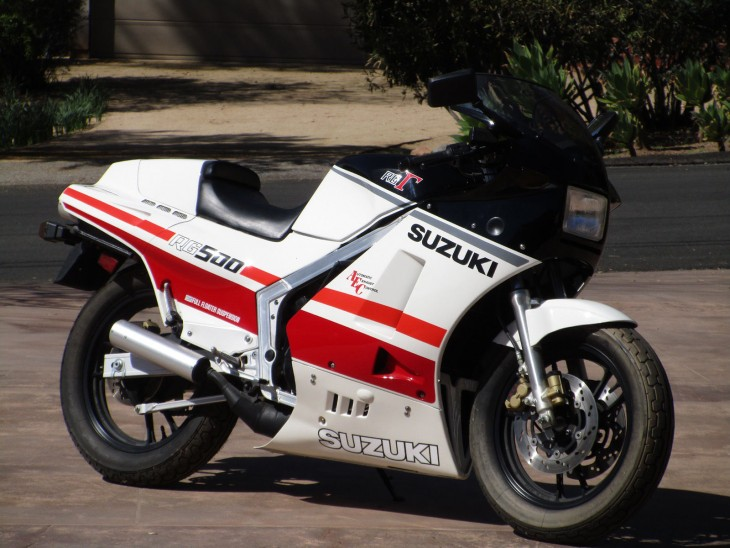 Time Capsule Two-Stroke: 1986 Suzuki RG500Γ for Sale with Just 30km!