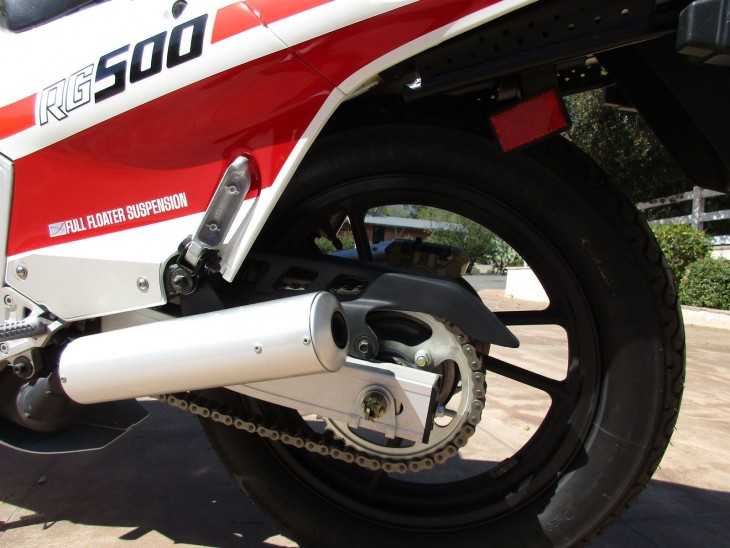 1986 Suzuki RG500 Rear Suspension
