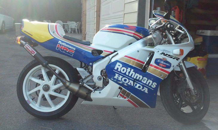 Rothmans Race Rep: 1994 Honda NSR250R SP for Sale