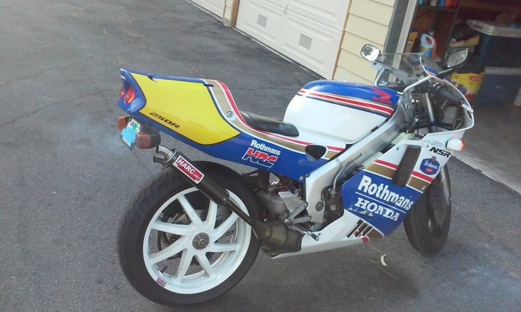 1994 Honda NSR250R Roth R Side Rear