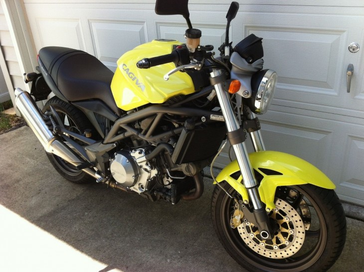 Monster Fighter: 2000 Cagiva Raptor 1000 for Sale