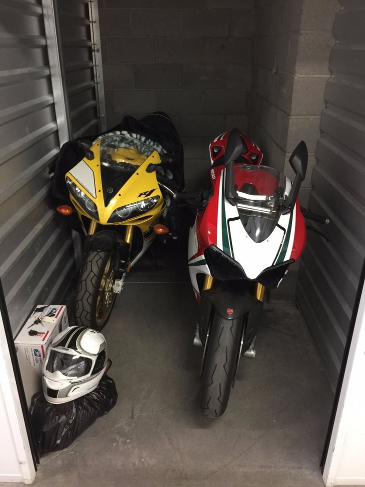 Storage Wards – 2006 Yamaha YZF-1000 R1 50th Anniversary