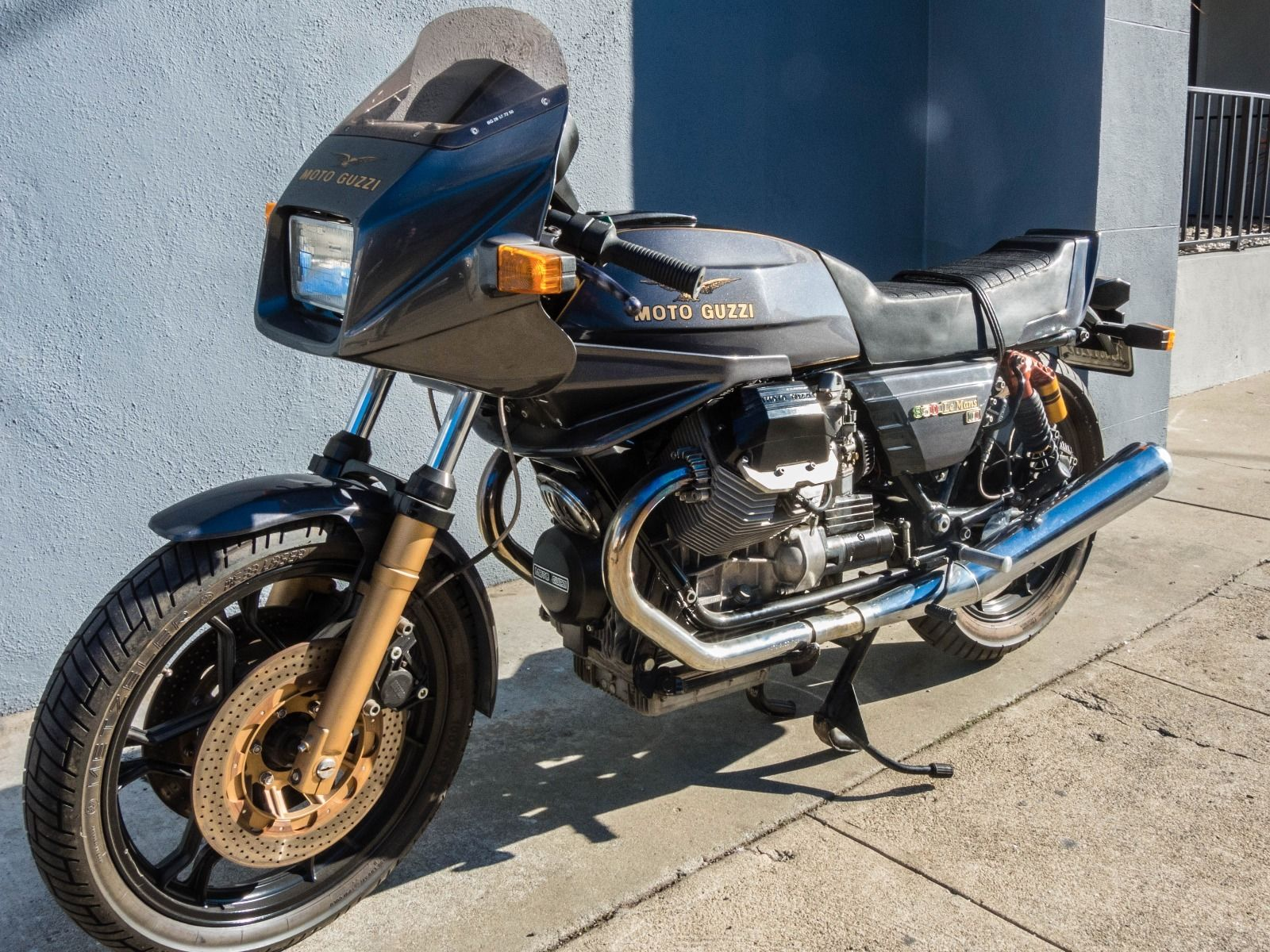 set up 1984 moto guzzi 850 le mans mk iii rare sportbikes for sale. Black Bedroom Furniture Sets. Home Design Ideas