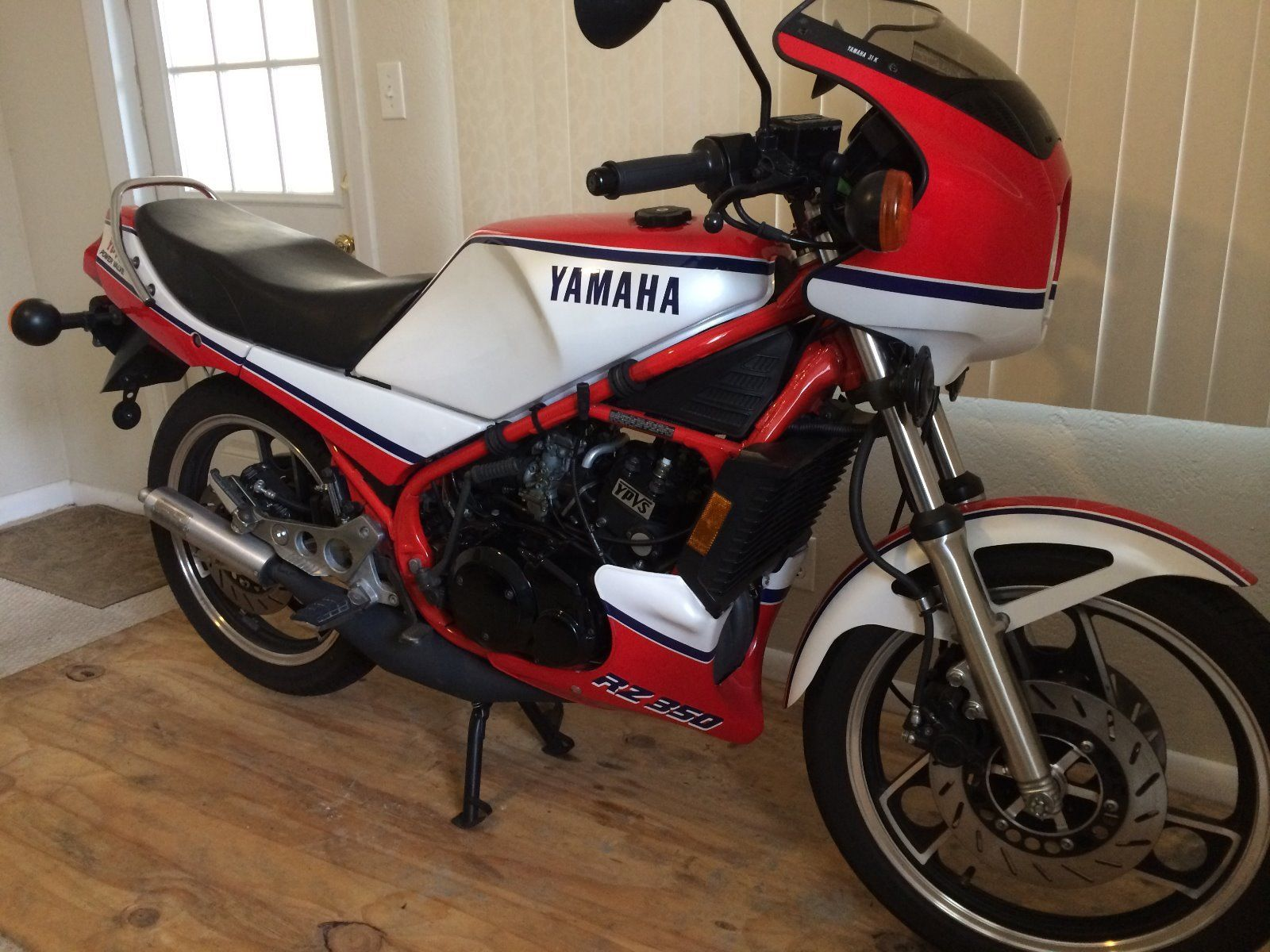 1984 yamaha rz350 with only 3 984 miles in florida rare for Yamaha rz for sale