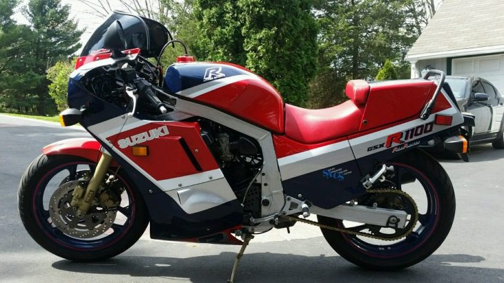 Serious Slabbie: 1986 Suzuki GSX-R1100 for Sale