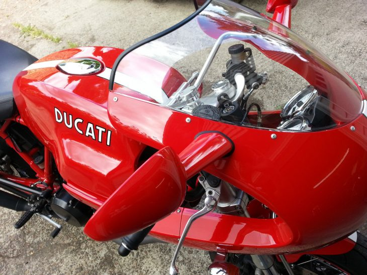 20160426 2007 ducati sport 1000s right mirror