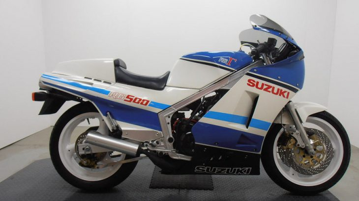 Gamma From Down Under: 1985 Suzuki RG500Γ for Sale