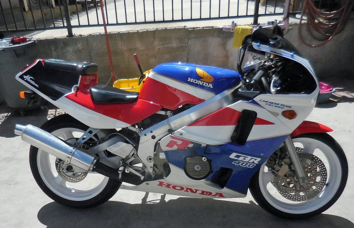 Grey Market Goodness: 1988 Honda CBR400 with California Title