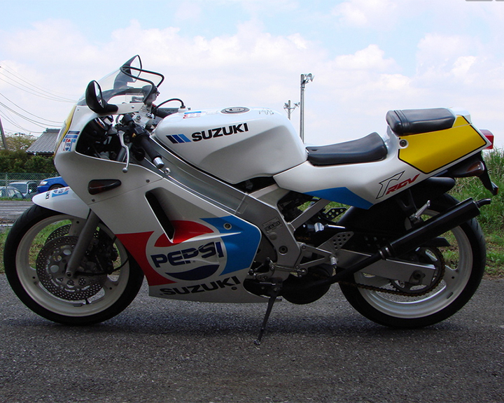 1989 Suzuki RGV250SP L Side
