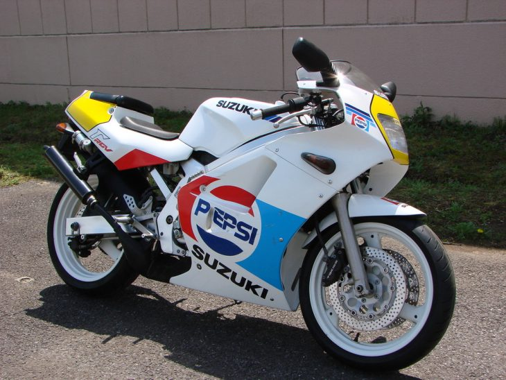 The Pepsi Challenge: 1989 Suzuki RGV250SP VJ21A for Sale