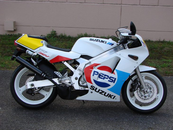 1989 Suzuki RGV250SP R Side