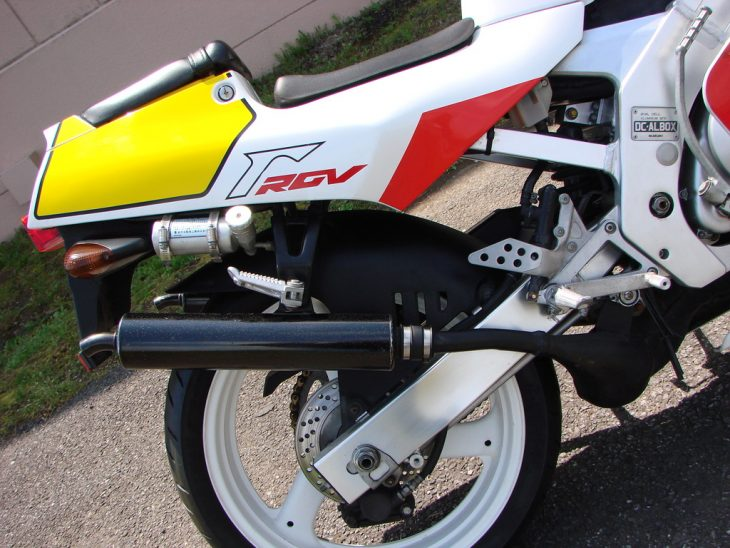 1989 Suzuki RGV250SP Tail