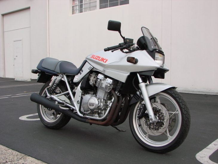 Smaller, But Still Sharp: 1999 Suzuki GSX400S Katana for Sale