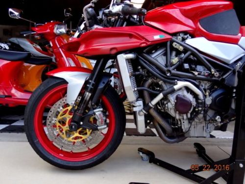 2005 MV Agusta F41000 L Side Engine