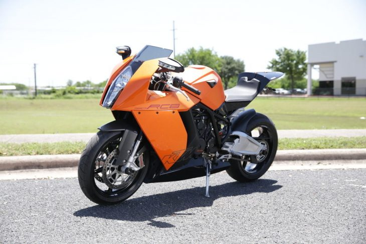 An Austrian Interpretation – 2008 KTM RC8