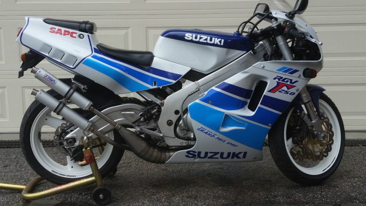 Feel the Burn – 1990 Suzuki RGV250
