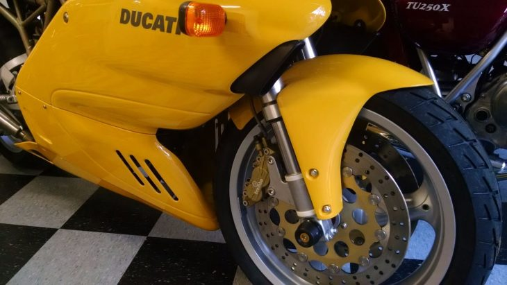 20160517 1999 ducati 750 ss right front wheel