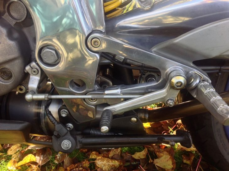 20160526 2006 aprilia rs125 left peg