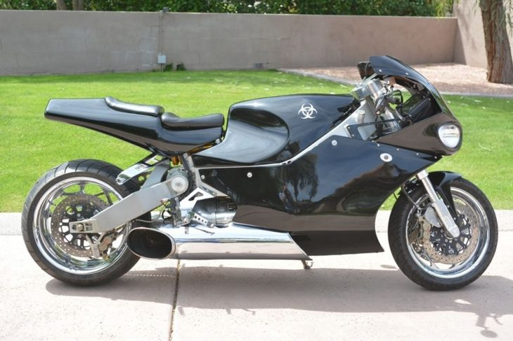 Boss Hoss of Sportbikes?  2002 MTT Turbine Jet Bike