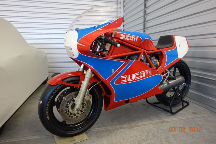 #becauseracebike: 1984 Ducati 750 TT1 for Sale